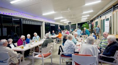 Kookaburra village over 50s social club