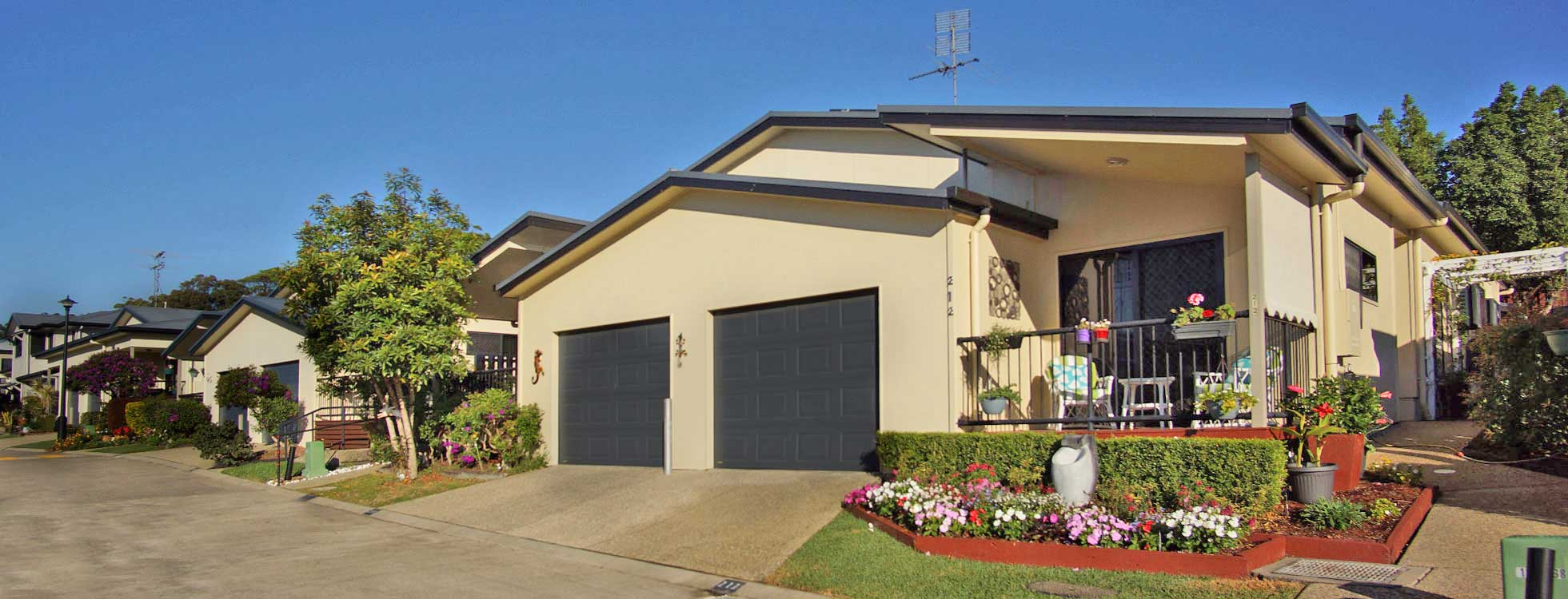 modern luxury duplex homes